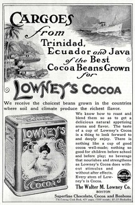 Lowney's Cocoa -1911A