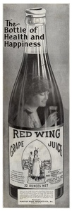Red Wing Grape Juice -1915A