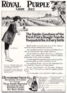 Royal Purple Grape Juice -1915A