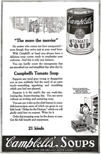 Campbell's Tomato Soup -1919C