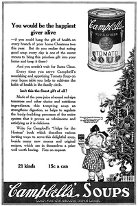 Campbell's Tomato Soup -1920A