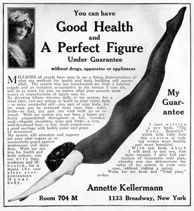 Annette Kellermann -Body Beautiful -1911A