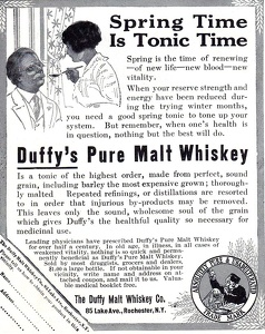 Duffy's Pure Malt Whiskey -1914A
