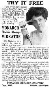 Monarch Electric Massage Vibrator -1915A