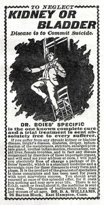 Dr. Boies' Specific -1899B