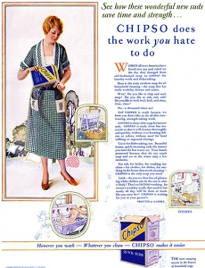 Chipso Laundry Soap -1925A