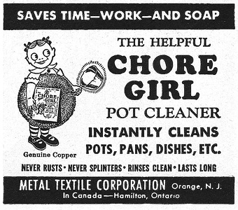 Chore Girl Pot Cleaners -1948A