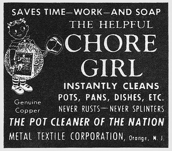Chore Girl Pot Cleaners -1948B