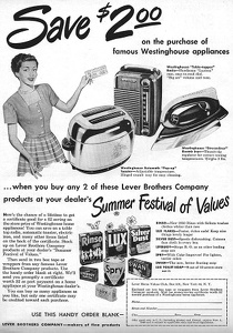 Lever Brothers Cleansers -1949A