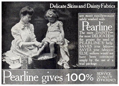 Pearline Washing Compound -1906A