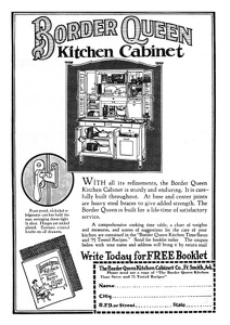 Border Queen Kitchen Cabinets -1924A