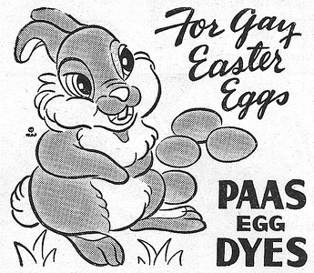 Paas Easter Egg Dyes -1948A