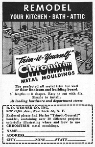 Chromtrim Mouldings -1947A