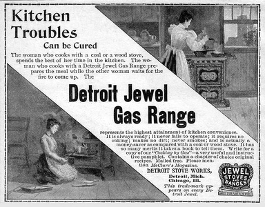 Detroit Jewel Gas Ranges -1898A
