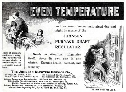 Johnson Furnace Draft Regulator -1896A