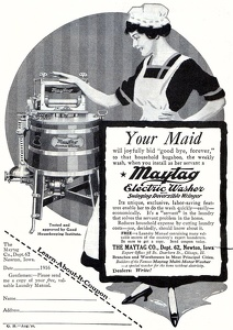 Maytag Electric Washers -1916A