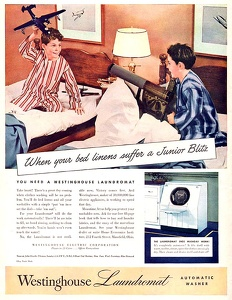Westinghouse Washers -1945A