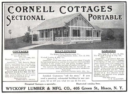 Cornell Portable Cottages -1911A