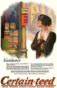 Certain-teed Paints and Varnishes -1919B