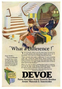 Devoe Paint and Varnish Products -1925A