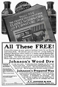 Johnson's Wood Dye -1913A