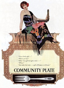 Community Plate -1917A