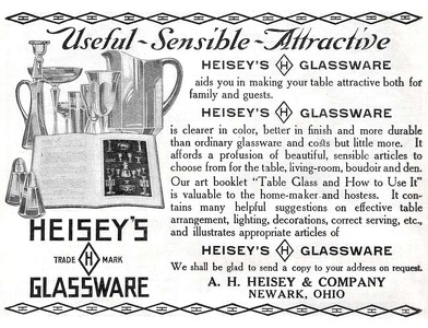 Heisey's Glassware -1911A