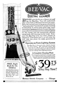 Bee-Vac Electric Cleaner -1924A