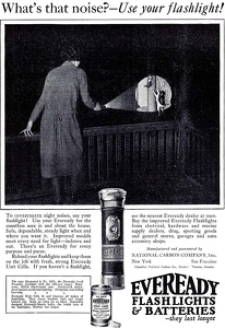 Eveready Flashlights and Batteries -1925B