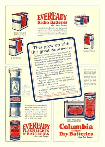 Everyready Batteries -1924A