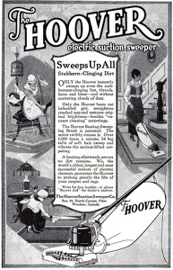 Hoover Electric Suction Sweepers -1918A