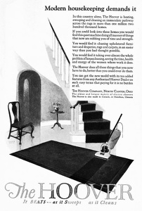 Hoover Vacuum Cleaners -1924A