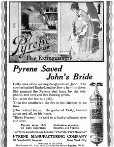Pyrene Fire Extinguishers -1915A