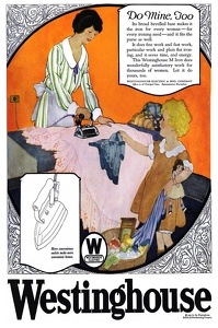 Westinghouse Electric Irons -1922A