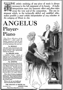 Angelus Player Pianos -1909A