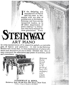 Steinway Pianos -1909A