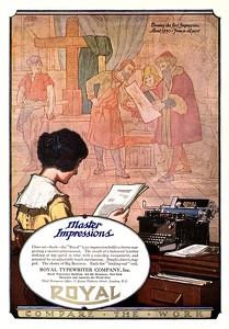 Royal Typewriters -1921A