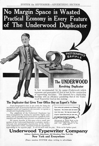 Underwood Duplicator -1910A