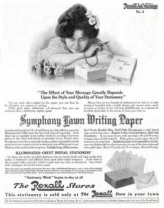 Symphony Lawn Writing Paper -1913A