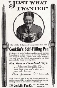 Conklin's Self-Filling Pen -1903A