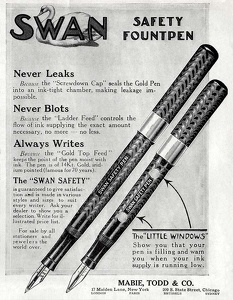 Swan Safety Fountpens -1913A