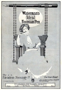 Waterman's Ideal Fountain Pens -1912A