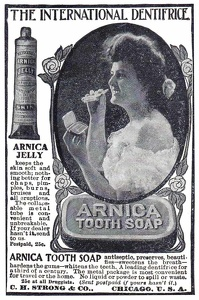 Arnica Tooth Soap -1906A