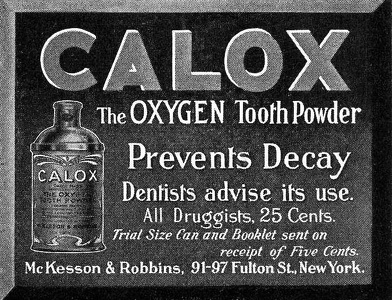 Calox Tooth Powder -1909A