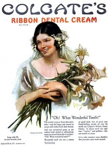 Colgate Ribbon Dental Cream -1924A