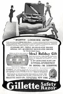 Gillette Safety Razors -1905A