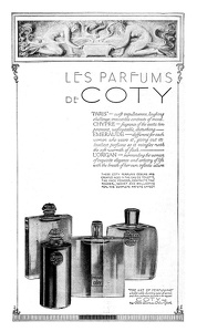 Coty Perfumes -1924A