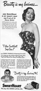SweetHeart Soap -1949A