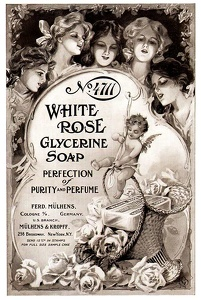 White Rose Glycerine Soap -1909A