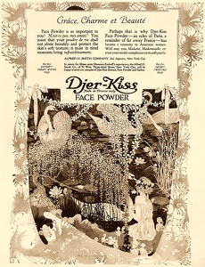 Djer-Kiss Face Powder -1918A
